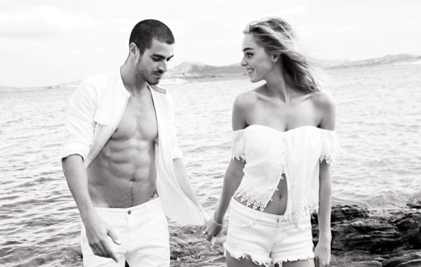 Gui Fedrizzi is the new image of Guess SS 2016 new campaing. The model is photographed by Kayt Jones at the island of Mykonos.