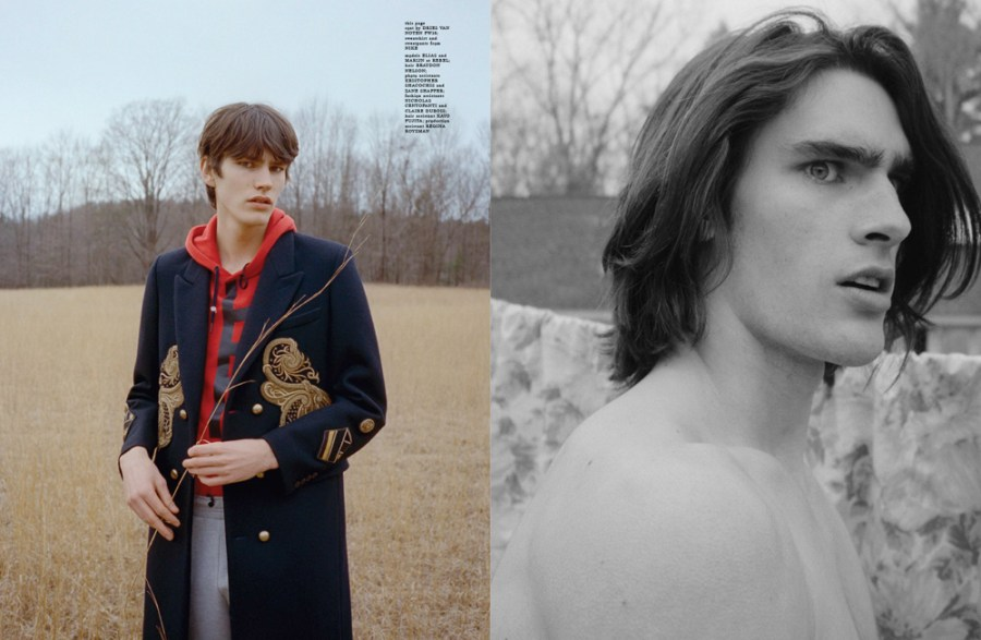 HERO Fashion Director Gro Curtis and photographer Alessio Boni find themselves on an isolated weekend break with models Marijn Aper and Elias de Poot, shooting an epic editorial for the new issue with.