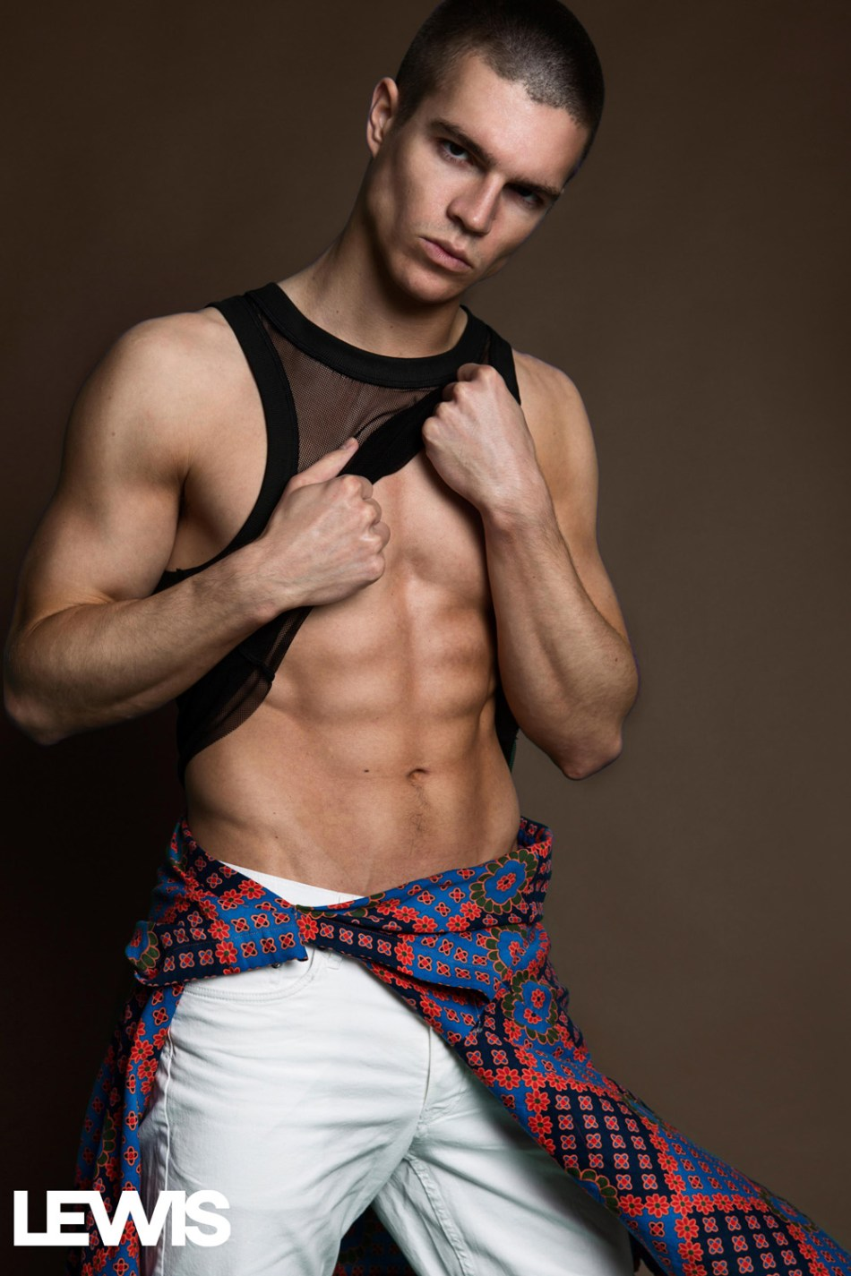 In Motion- Braeden  Wright by Lalo Torres for Lewis Magazine