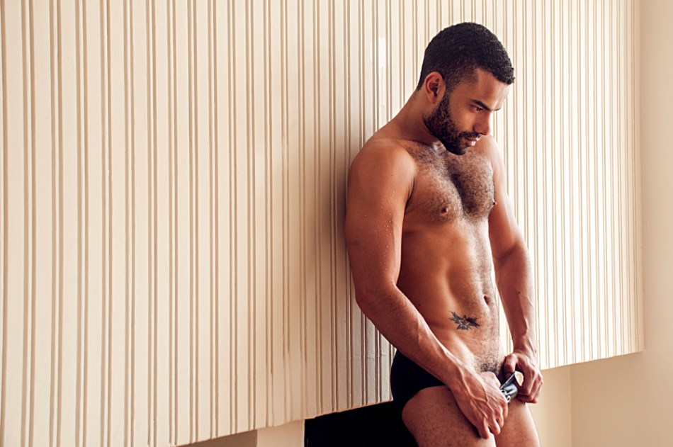 Here's a the work of photographer based in Lima Juan Yactayo Sono, capturing intimate work with stunner Andy Vasquez.
