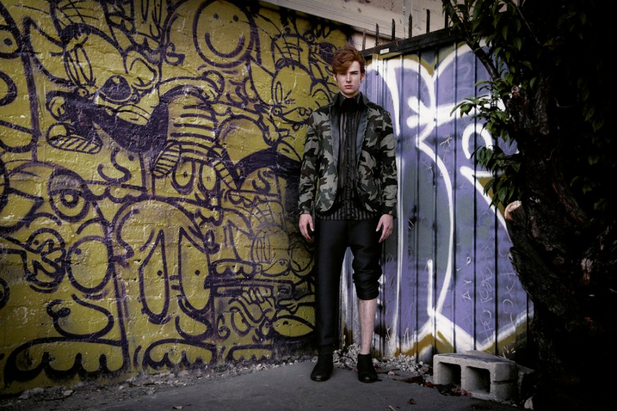 """""""King of Gangs"""" fashion editorial captured by talented Jvdas Berra starring by Model Sean Grace from TWO Model Management, fashion styling by Adolfo Sánchez and grooming by Chanel Bohn."""