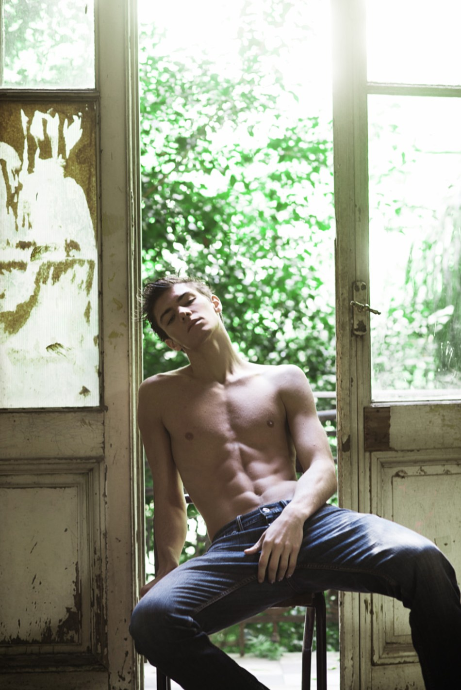 So hot so young featuring the new work of Tino Vargas featuring Argentinian beauty Martin from DHR Models.