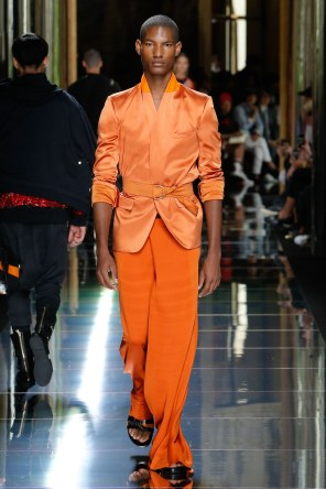 BALMAIN MENSWEAR SPRING SUMMER 2017 PARIS (34)