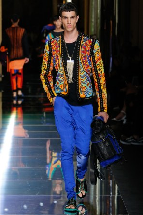 BALMAIN MENSWEAR SPRING SUMMER 2017 PARIS (42)