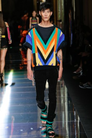 BALMAIN MENSWEAR SPRING SUMMER 2017 PARIS (43)