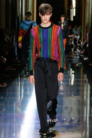 BALMAIN MENSWEAR SPRING SUMMER 2017 PARIS (49)
