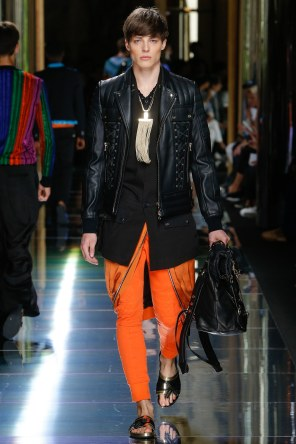 BALMAIN MENSWEAR SPRING SUMMER 2017 PARIS (50)
