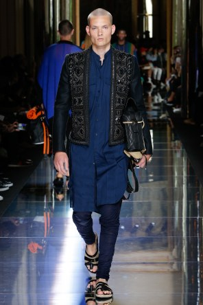 BALMAIN MENSWEAR SPRING SUMMER 2017 PARIS (54)