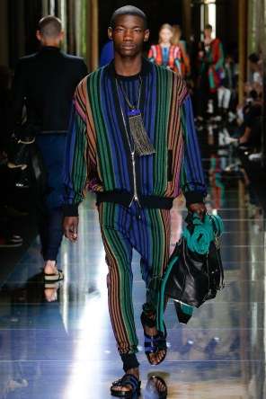BALMAIN MENSWEAR SPRING SUMMER 2017 PARIS (55)