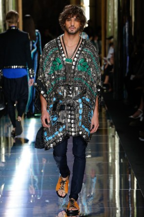 BALMAIN MENSWEAR SPRING SUMMER 2017 PARIS (69)