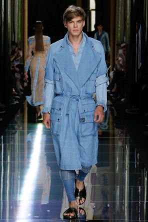 BALMAIN MENSWEAR SPRING SUMMER 2017 PARIS (7)