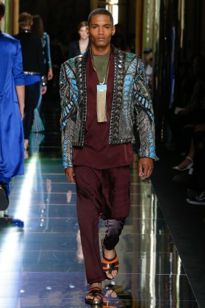 BALMAIN MENSWEAR SPRING SUMMER 2017 PARIS (70)