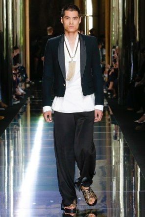 BALMAIN MENSWEAR SPRING SUMMER 2017 PARIS (74)