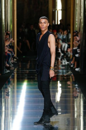 BALMAIN MENSWEAR SPRING SUMMER 2017 PARIS (80)