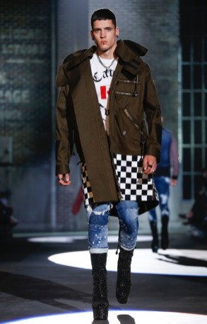 DSQUARED2 MENSWEAR SPRING SUMMER 2017 MILAN (28)