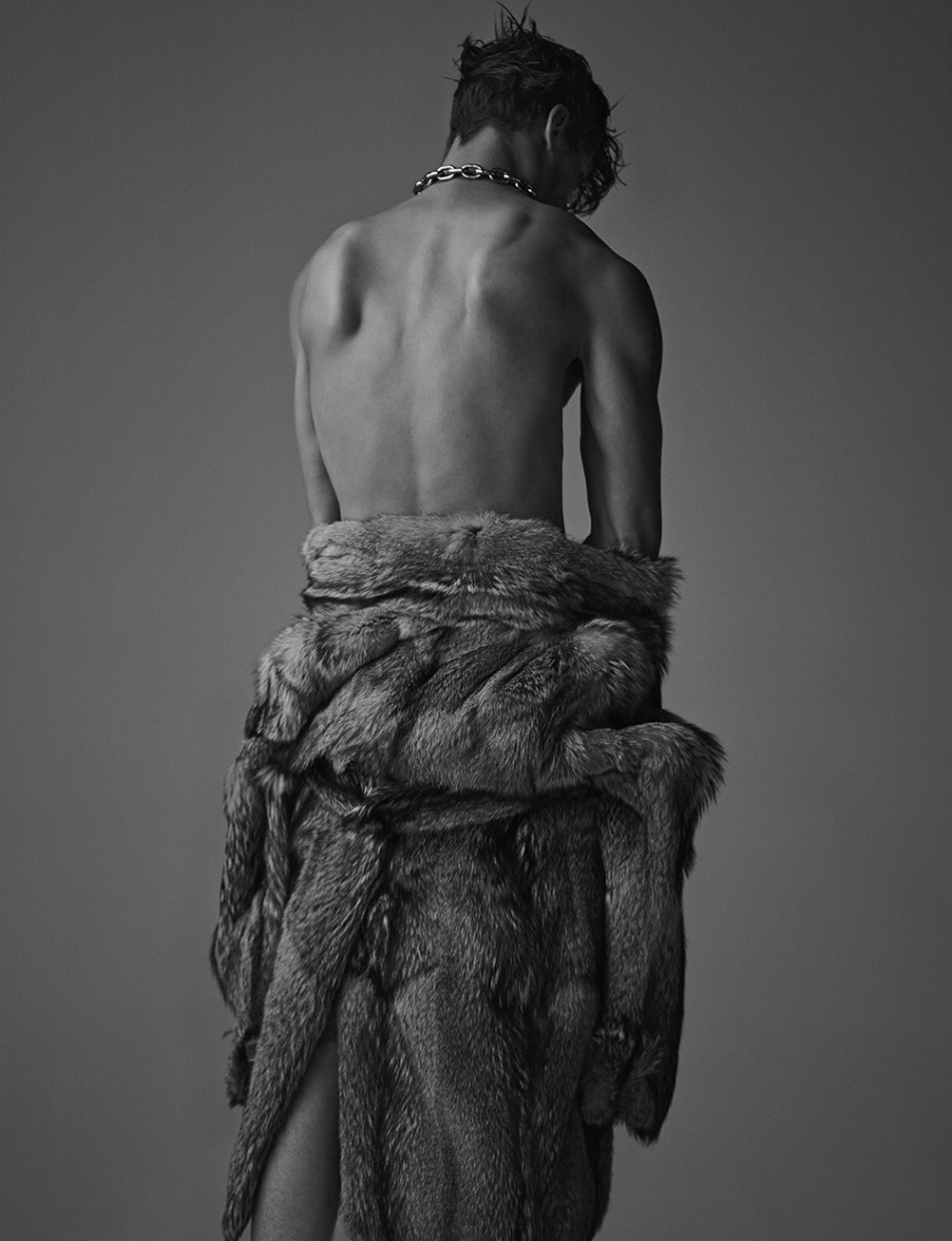 Top model John Todd for NUMERO China, shot by photographer Hong Jang Hyun. Splendid edition and lighting John from MIKAS