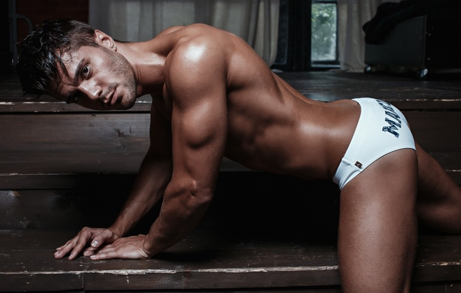 Marcuse launched new campaign from Summer Collection 2016 featuring male model Tim Tweedy and shot by photographer Pavel Lepikhin.
