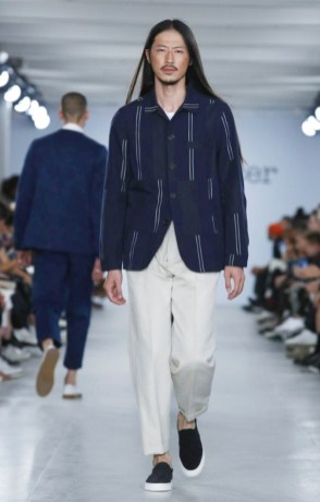 OLIVER SPENCER MENSWEAR SPRING SUMMER 2017 LONDON (1)