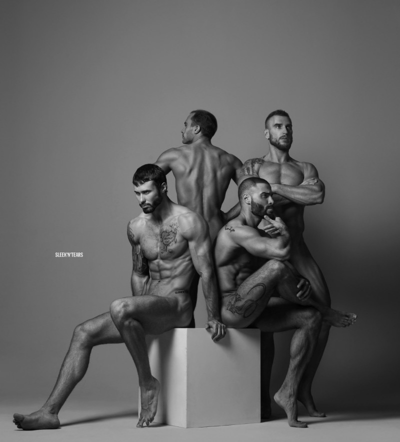 The project extolling the male body. The desire aimed at changing the usual canons of art photography that indirectly discriminate against an outcrop of the stronger sex. The liberation of the male body through the demonstration of Fine poses opens an incredible amount of features, visually superior to the female body due to their natural abilities, that can not be ignored. SLEEK'N'TEARS not hesitate states of perfection in the person of men.