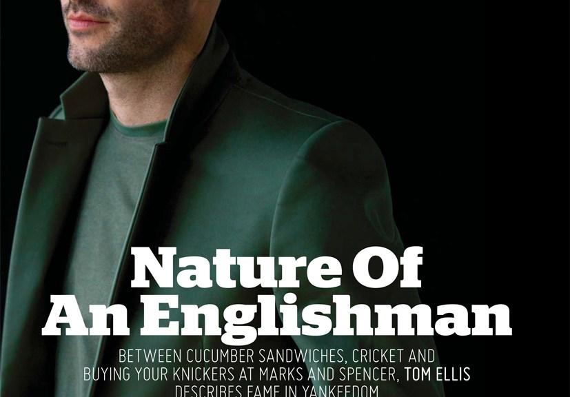 Wales born actor known for Lucifer (2015), Tom Ellis comes in the new editorial titled 'Nature of An Englishman' photographed by Karl Simone for August Man Malaysia. Styled by Bruno Lima Creative Director Melvin Chan.