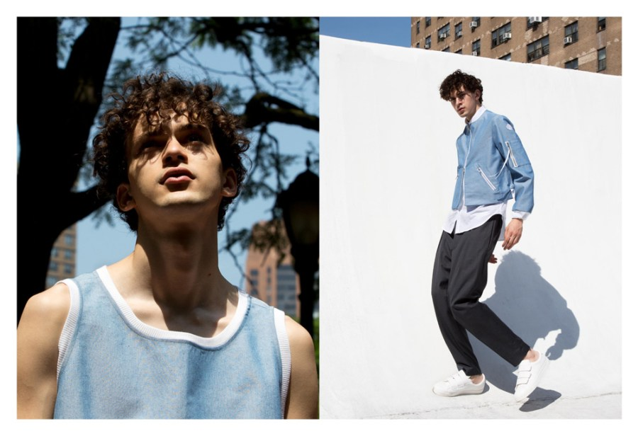 Inspired by the designer's own experience as the son of immigrant parents, SS 17 is intended to be an exploration of maintaining identity while in new environments.