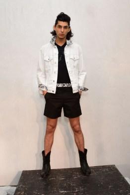 Mandatory Credit: Photo by Aurora Rose/REX/Shutterstock (5754854bb) Model on the Catwalk Artistix with Andy Hilfiger Presentation, Spring Summer 2017, New York Fashion Week: Men's, USA - 11 Jul 2016