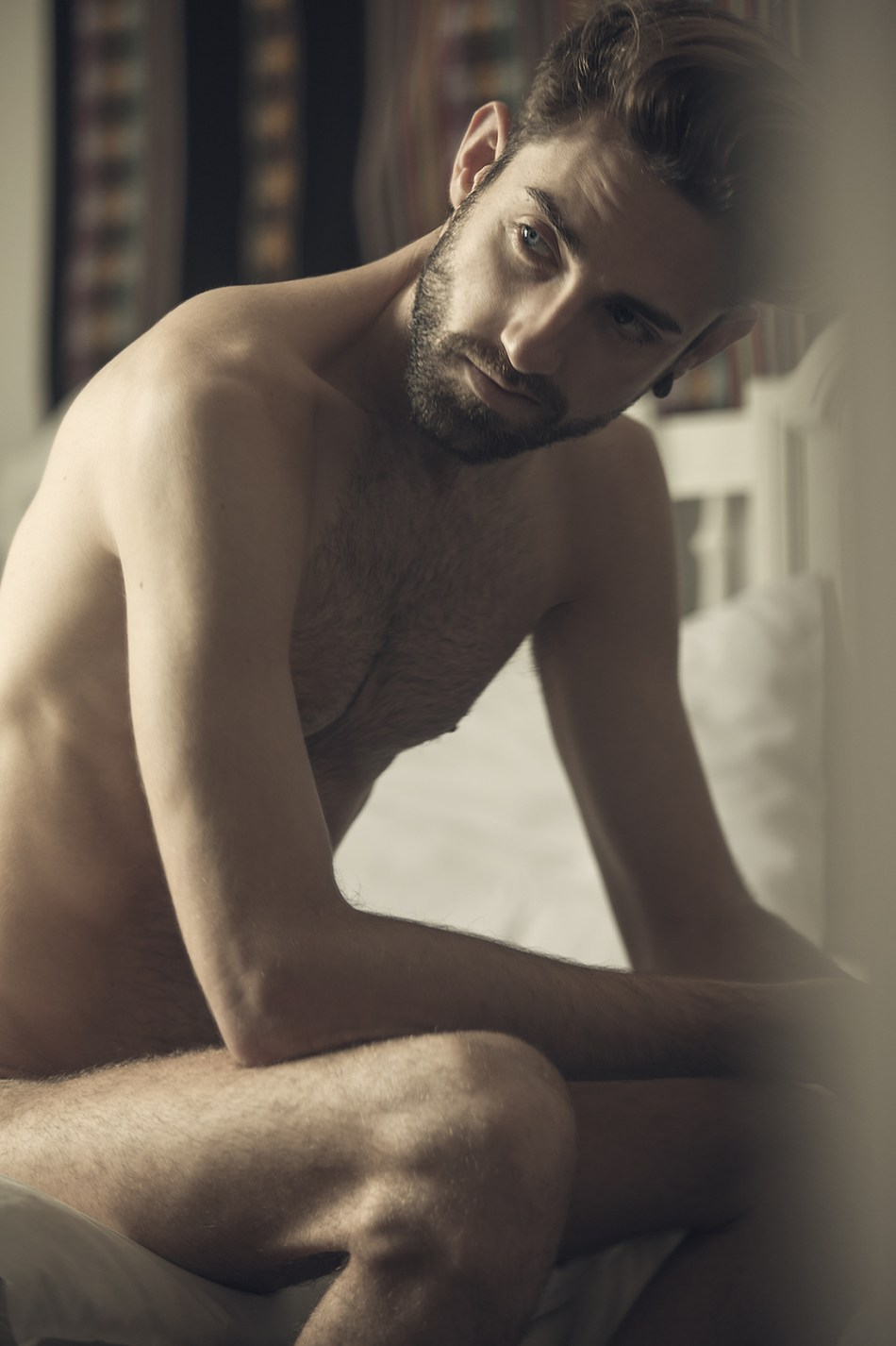 """Hypnotized with those beautiful eyes and body, introducing the new entitled work """"awake"""" by Angel Ruiz with Spanish model Iván McKenzie a beautiful human being living in Peru."""