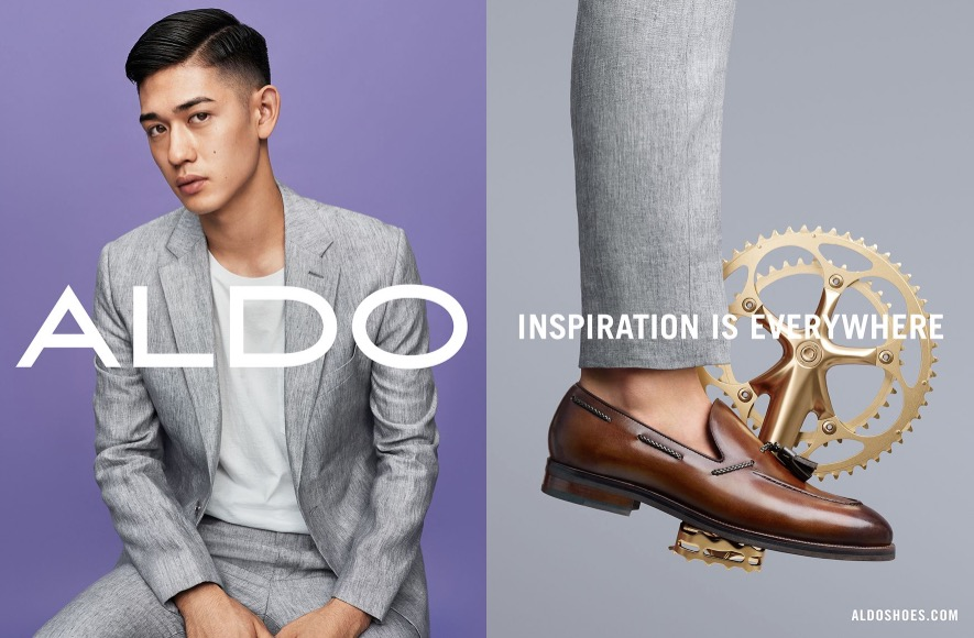 """dfb8b78607 ... ALDO Shoes exposed a new colorful ads campaign its Spring/Summer 2016  titled """"Inspiration ..."""