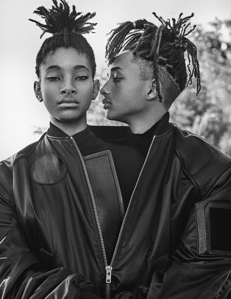 Interview Magazine presents September 2016 Issue with Willow and Jaden Smith photography by Steven Klein styled by Karl Templer, we're gonna present some excerpts of Pharrell Williams written words for Interview.