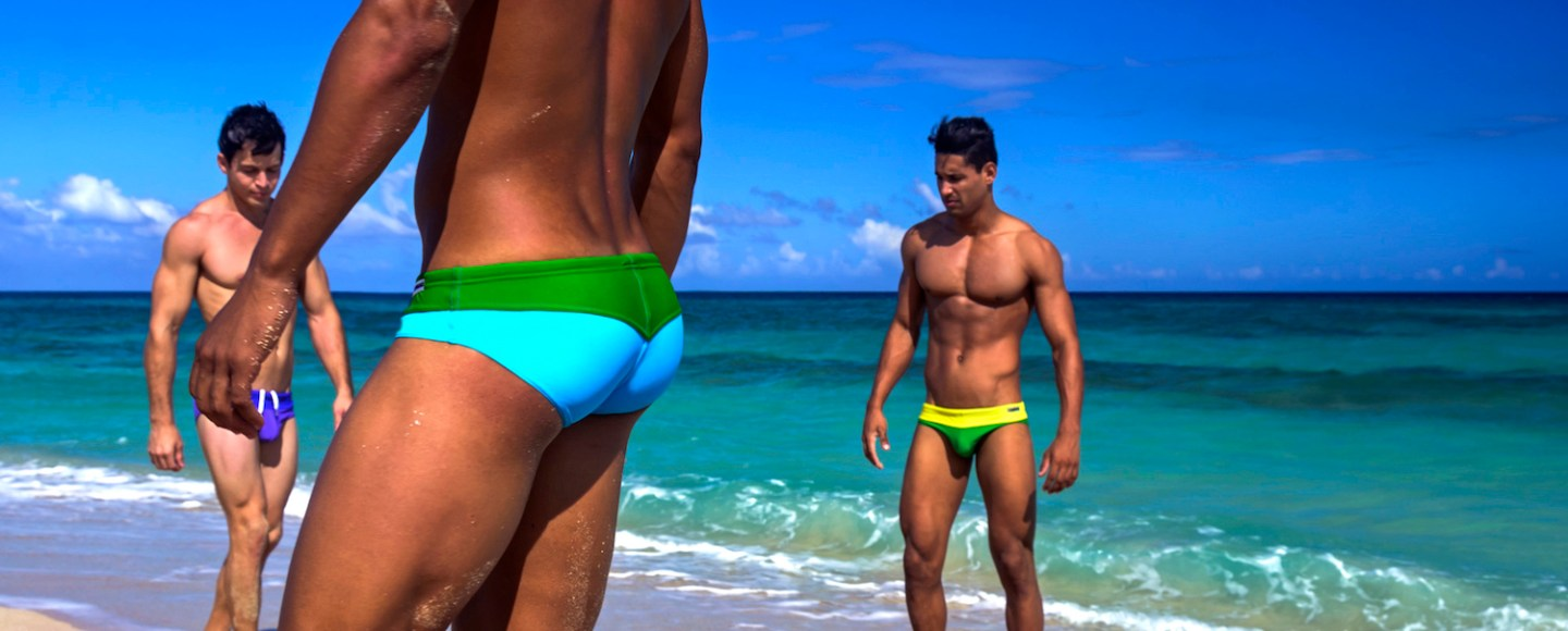 Summertime in Cuba with Modus Vivendi swimwear At the height of summer we travel to Cuba for the new Rainbow Line of swimwear by Modus Vivendi. This line is part of the extensive collection the brand has released this year and it is a celebration of colour and diversity! The Rainbow Line comprises eight classic swim briefs in modern and vibrant combinations of contrasting and matching hues. Each pair is handcrafted to perfection from top quality and fast drying fabrics. The campaign for this line was shot in Cuba by charismatic Kevin Slack. With three models on his side Randy, Jose Alejandro and Hector the great photographer captured in the best way possible the vibrant colours of this line and its confident and sexy feel.