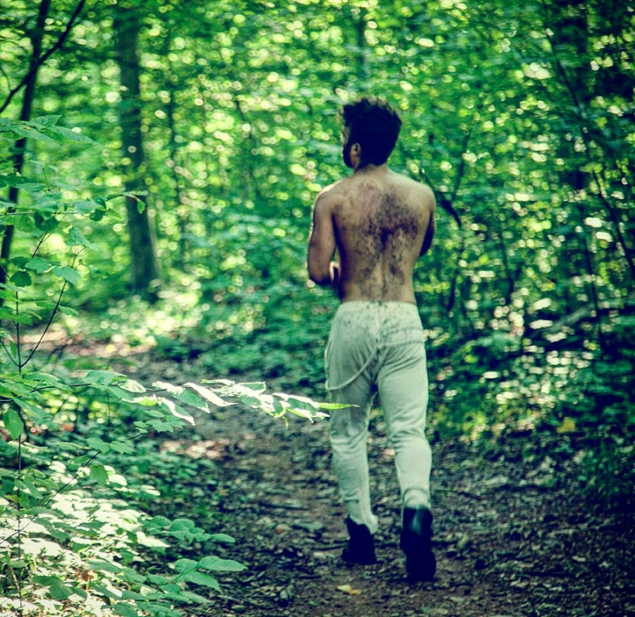 """Connecticut outdoors we find latest images of photographer Charles Quiles titled """"Into The Woods"""" featuring model Nico Gonzalez."""