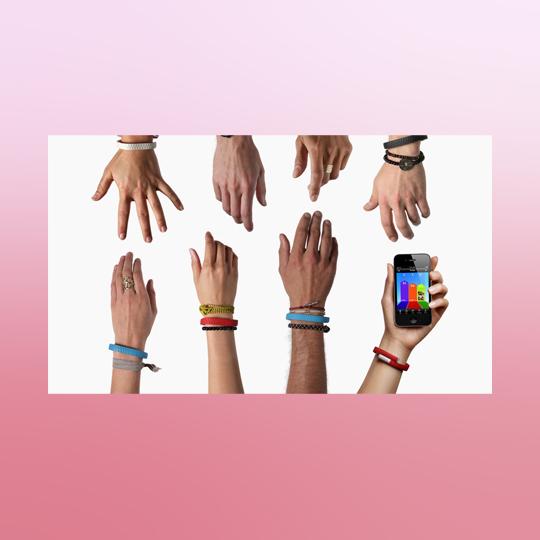UP wristband