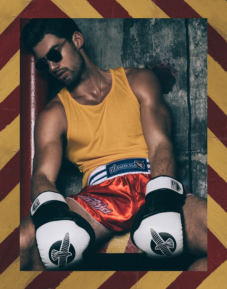 Eclipsed by the new work of photographer Brian Jamie featuring Mitchell Wick who plays a rebel sporty guy on the new ADON Magazine.