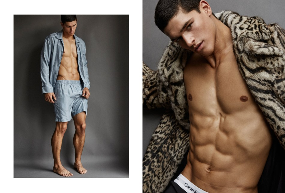 Models.com considers Model of the Week to Trevor Signorino and we are so agreed, photography by talent Greg Vaughan, Styled by Javon Drake and Grooming by Peter Matteliano they have a special interview by Jonathan Shia.