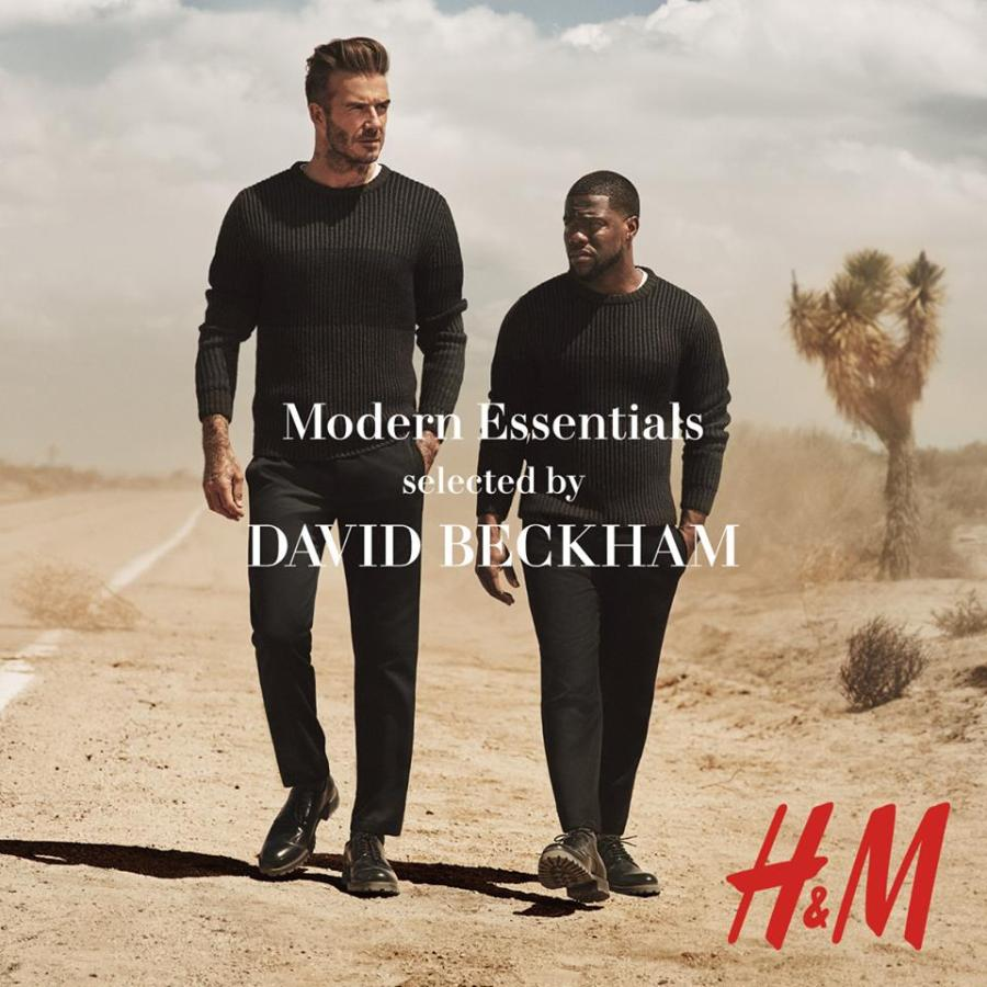 David Beckham and Kevin Hart are back to present the pieces from the H&M Modern Essentials collection for autumn 2016.