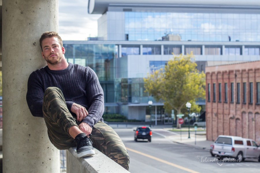Tanner Chidester is not your typical hot male model. With a bio that includes being raised in the Mormon faith in a huge Texas family, Tanner also was a fearless linebacker for the BYU Cougars. Later, he became a fearless model shocking the conservative BYU community with his steamy images.