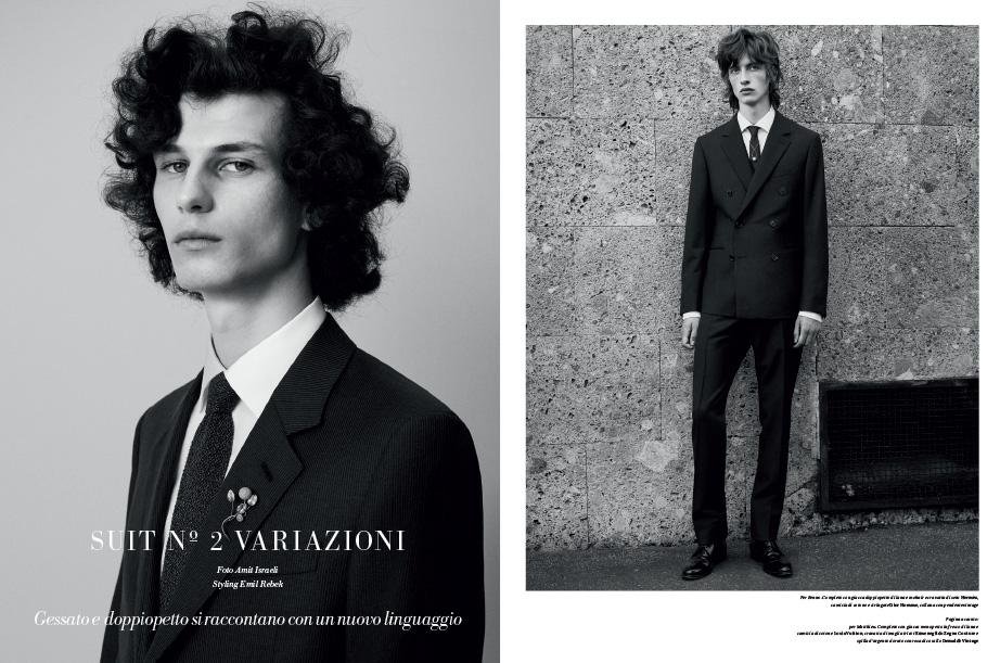 Suit Nº2 Variazioni -L'Officiel Hommes Italia