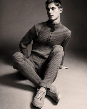 Pierre Cardin wool jumpsuit.