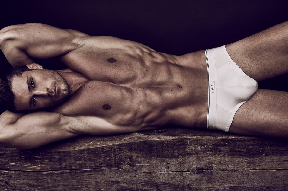 Contemplating sexy hunk Dogan Yildiz by Daniel Jaems