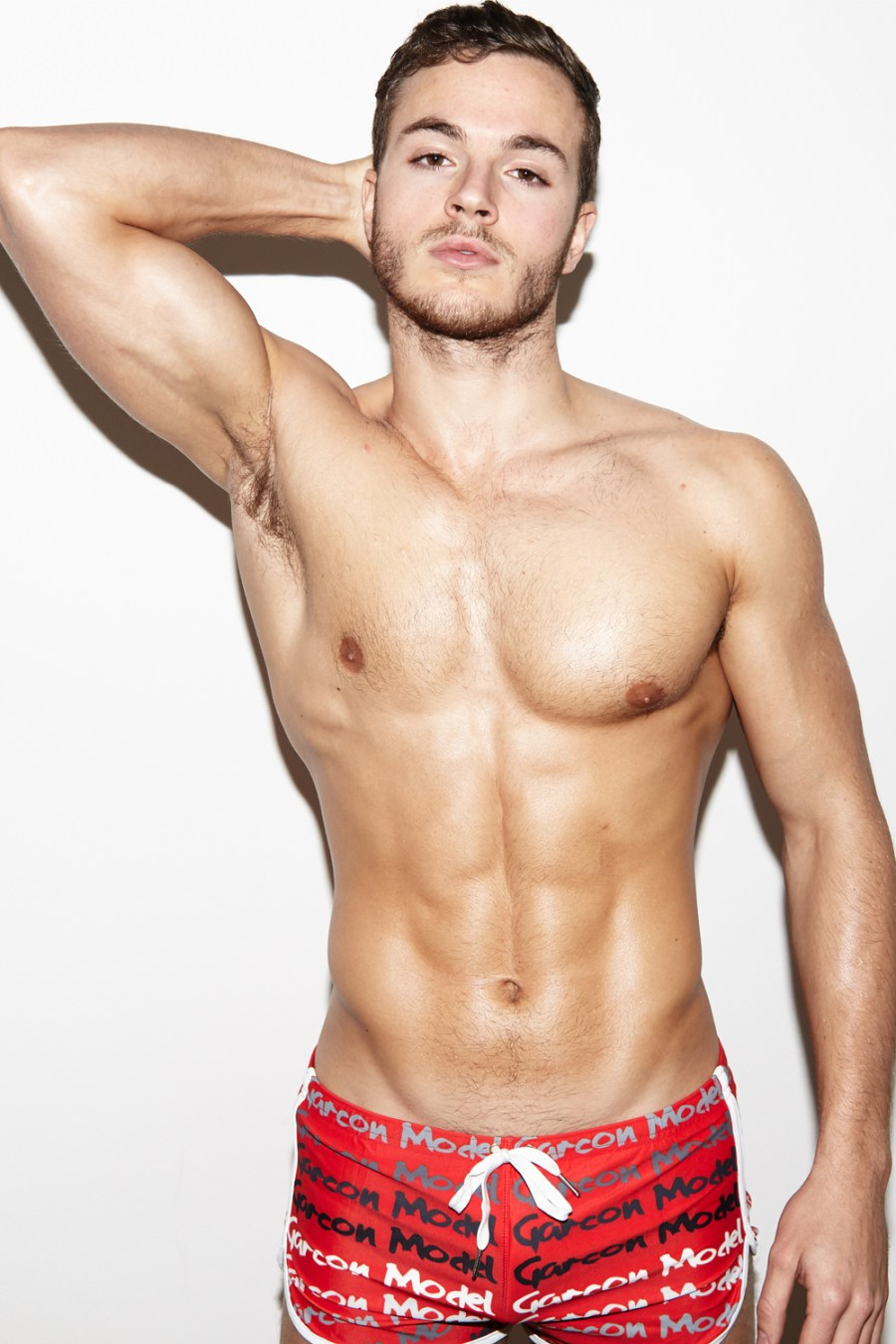 New hot hot pictures of model Benjamin shot by Jonas Huckstorf