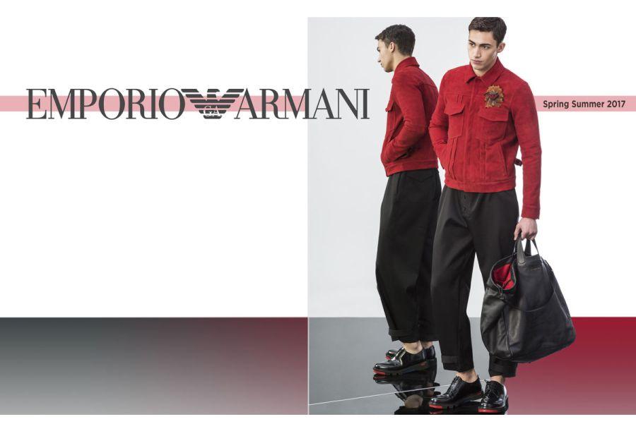 Emporio Armani Spring/Summer 2017 Lookbook
