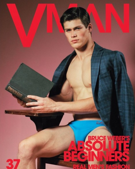 Jacob Hankin for VMAN #37