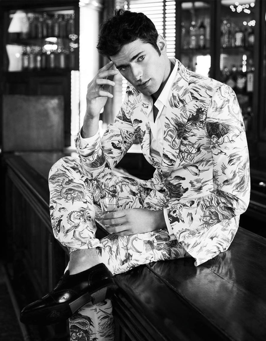 Sean OPry for Harpers Bazaar Taiwan March 20178