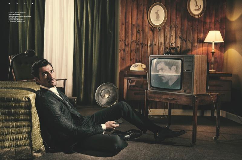 David Gandy by Olivier Yoan for L'Officiel Hommes Switzerland4