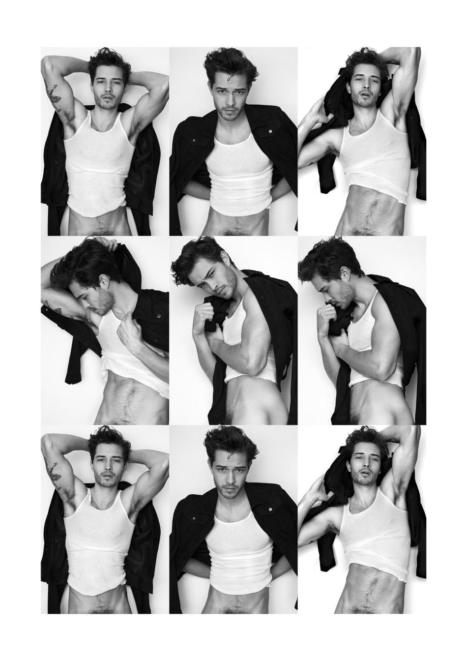 Francisco Lachowski by Karl Simone for Yearbook Fanzine2