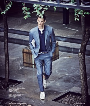 Garrett Neff for Neiman Marcus Man April Book 20178