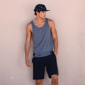 Tank, shorts, hat. The only things you need this summer ✖️