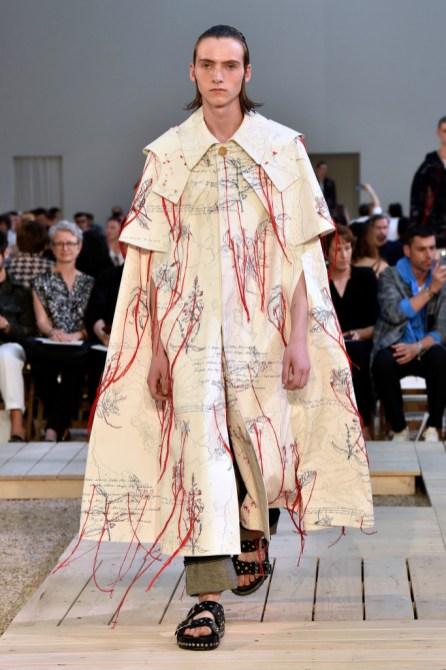 Alexander McQueen Men's Spring 2018