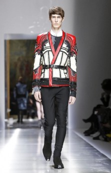 BALMAIN MENSWEAR SPRING SUMMER 2018 PARIS37