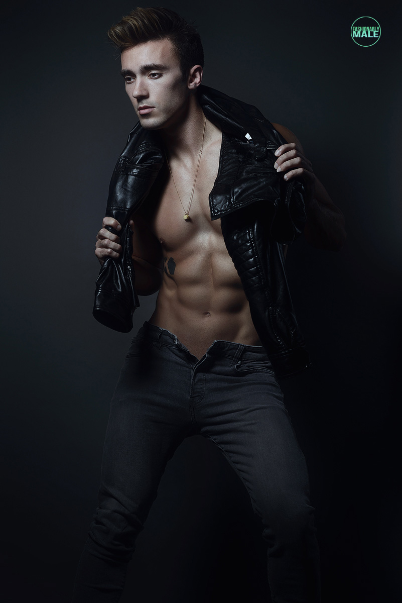 Bradley B. by Armando Adajar for Fashionably Male2